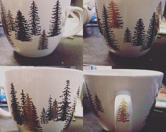 Treehugger Customizable State Mug