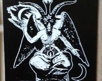 Baphomet- Vinyl STICKER - HORROR / Occult / pagan / satan / Knights Templar