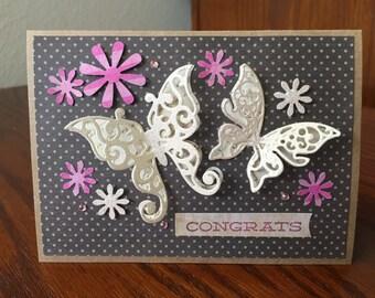 Congrats butterflies