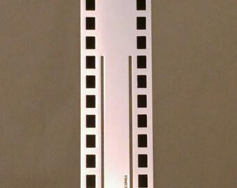 Cunill Cinema Bookmark SILVER