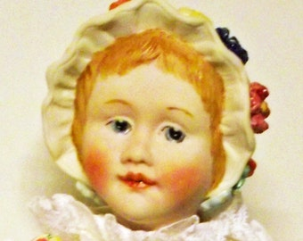 """Antik Repro doll """"Louisa"""", ca. 27 cm (31)"""