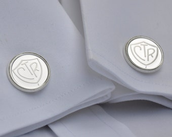 LDS CTR Cuff Links - Silver