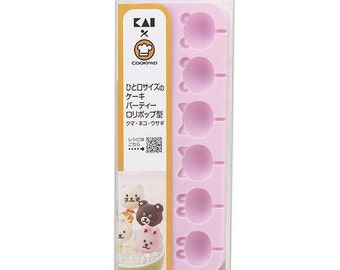Cake Pops Silicone Tray Mold Cat Rabbit  Bear Cookpad Cake Pop Lollipops