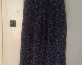 Vintage Polka Dot Skirt