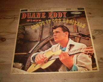 Songs of our Heritage,Duanne Eddy Vinyl LP Record Album,Original 1960 First British pressing