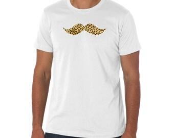 Leopard Mustache shirt
