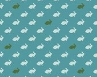 Riley Blake Designs Rabbit Blue from Wonderland Collection