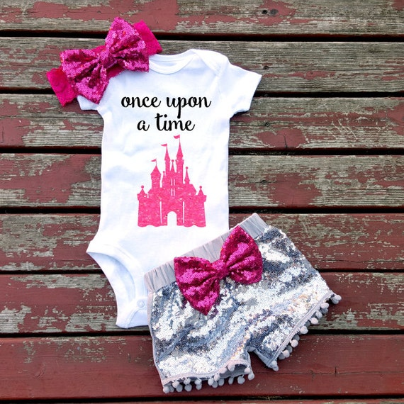 Once Upon A Time Fairytale Baby Girl Onesie By