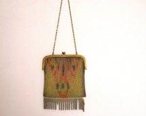 Beautiful vintage 20s purse in mesh