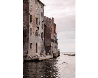 Venice Photo - Venice Digital Photo - Italy Photo - Sea - Seaside Houses Photo - Vertical - Digital Photo - Digital Download - Home Decor