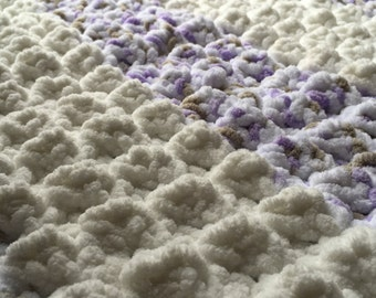 On the Go Baby Blanket Sweet Lilac