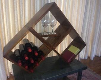 Wine Rack Bookshelf