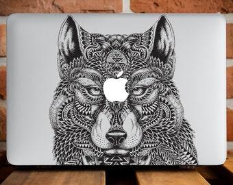 Lone Wolf Mac 12 Case MacBook Air 13 Case Macbook Hard Case MacBook Pro 15 Cover MacBook Air Case Mac Pro Cover MacBook Pro Retina 15 WCm049
