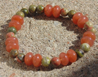Rock Bead Natural Bracelet