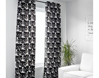 White Curtains black and white curtains ikea : Curtains Ikea Qatar. Japan Style Colorful Horizontal Striped ...