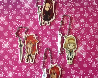 Tales of the Abyss Keychain Set 1