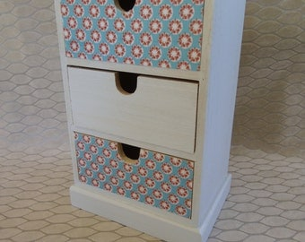 small cabinet with drawers