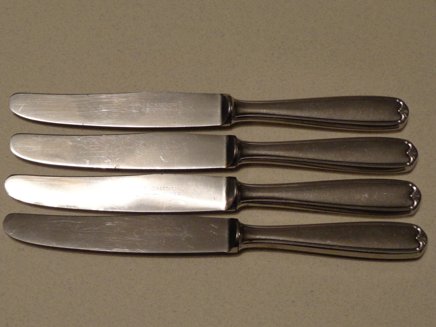 Vintage roneusil rostfreier stahl stainless flatware 4 modern - Contemporary stainless flatware ...