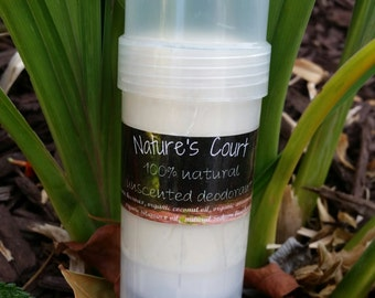 All Natural Deodorant Unscented - Chemical Free Deodorant