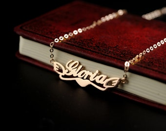 Personalized name necklace  Valentine's Day Gift