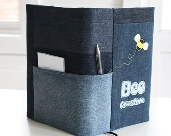 A5 Notebook Cover - Bee