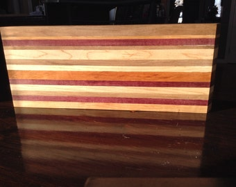 Large exotic hardwood cheese board
