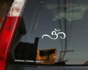 Om Vinyl Decal Sticker for Car Windows, Laptops, Gear, or Wherever.