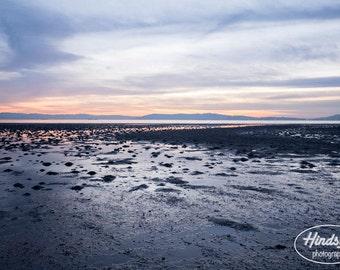 Alameda beach at low tide