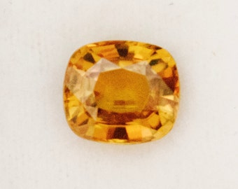 Shimmering Natural Orange Zircon