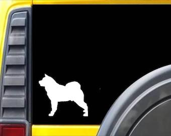 Akita dog Window Decal Sticker *J574*