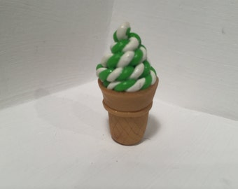 Polymer Clay Ice Cream Sculpture