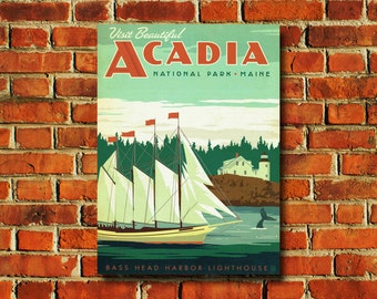 Acadia National Park Poster - #0776