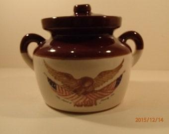 Vintage McCoy Bean Pot # 1 of 2