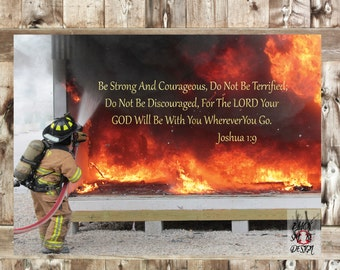 Firefighter Verse Etsy