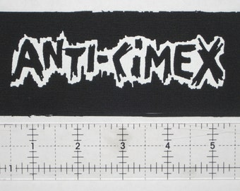 Anti Cimex Patch Anarcho Crust Punk Wolfpack D-Beat Avskum Warcollapse Antisect Discharge Nausea Skitsystem Disfear Wolfbrigade Totalitar