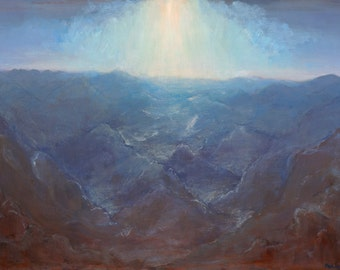 Moonlight Mountain Range