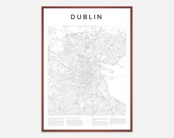 Dublin Map Print