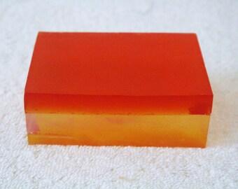 Lemon and Orange Scented Glycerin Bar Soap