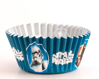 Star Wars paper cupcake cases 50 pack