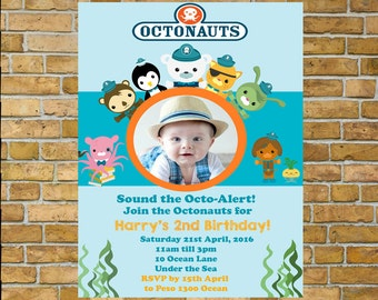 Octonauts  Birthday Invitation, Print your own invitation Sale!!!