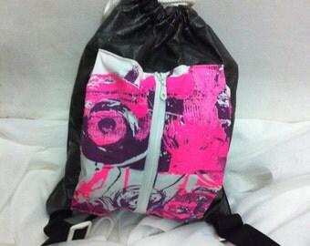 sack bag with a pocket