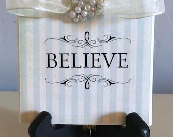 Believe Decorative Tile