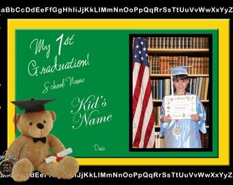 My First Graduation Photo JPEG Digital File (7x5)