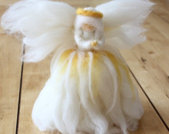 Christmas Angel Tree Topper or Stand-alone Decoration