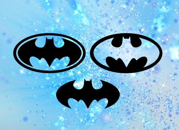 Batman Svg File Bat Cutting File Superhero Cuttable Design