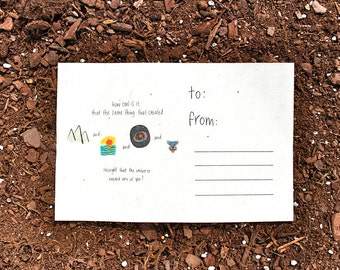 We Need You Plantable Card