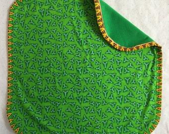 African print baby blanket