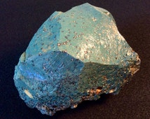 York Furnace Slag Stone- Blue slag glass