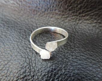 Raw Geode Ring W&W