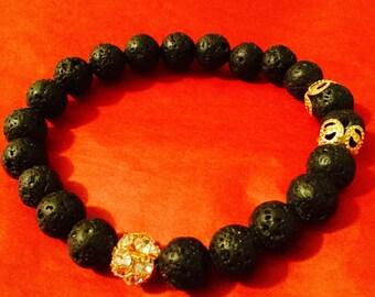 Royal Lava Bracelet